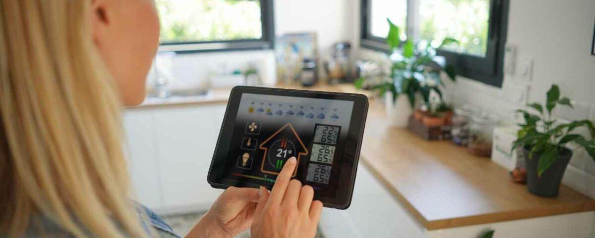 sterowanie domem za pomocą aplikacji