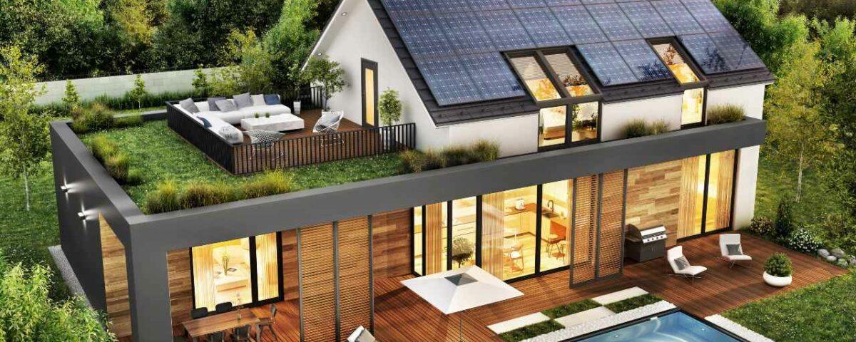 dom w stylu nowoczesnej stodoły